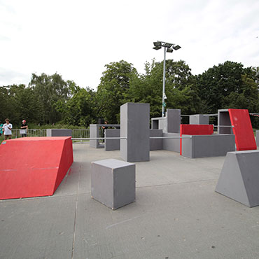 Camp Ramps Parkour Set Ups